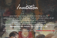 Conservation of Art: An Illustrated Talk at Eden Hall