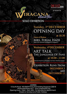 Wiracana Hand Fan Exhibition Art Talke